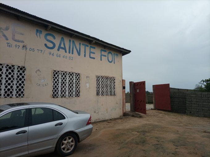 Domaine clôturé et loti à Gbodjè